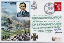 HISTORIC AVIATORS  - FLT LT A W BEAUCHAMP-PROCTOR FDC Signed By Two PILOTS COA