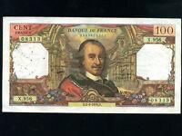France:P-149f,100 Francs,1976 * Pierre Corneille *