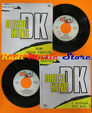"LP 45 7"" ALBERTO CARRARA Disco king 1983 italy DDD A 3876 italo disco cd mc *dvd"