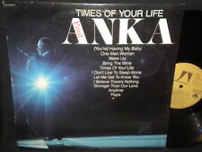 "Paul Anka ""TImes of Your Life"" LP"