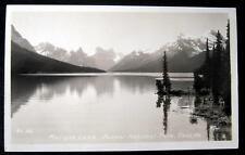 Canada~Jasper National Park~1930's MALIGNE LAKE ~ RPPC