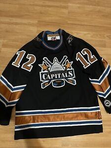 Koho Washington Capitals Peter Bondra NHL Jersey Dome Capitol Building Black M