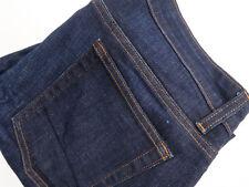 Eileen Fisher Size 12P Stretch Denim Organic Cotton Dark Wash Jeans 31x24