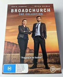 Broadchurch Collection: The Complete Series - 1 2 & 3 - Genuine Region 4 DVD