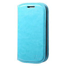 Samsung Galaxy Light T399 Premium Wallet Case Pouch Flap STAND Cover Accessory