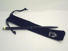 Kugelschreiber Lindauer mit Swarovski Elements Chop-Stick-Kugelschreiber schwarz