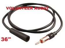 """Scosche AXT36 36"""" Antenna Extension Cable Am Fm And Interior 3 Feet Long"""