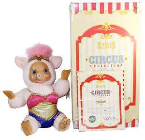 Robert Raikes Bear Originals Circus Collection Violet The Pig Original Box & COA