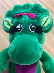 """Baby Bop Barney 12"""" Plush Doll Stuffed Animal 1992 Toy Collectable"""