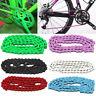 Bicycle Bike Chain Single Speed 1/2''x1/8'' Colours MTB BMX Fixie Fixed Gear 96L