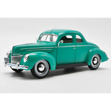 Maisto 1:18 Scale 1939 Ford Deluxe Coupe Diecast Car Model Green Collection NEW