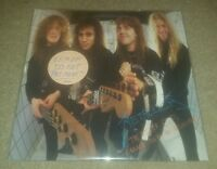 Metallica Garage Days re-revisited 5.98 vinyl WHITE PROMO LABEL record album ep