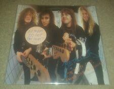 Metallica Garage Days re-revisited 5.98 vinyl WHITE PROMO LABEL record album ep