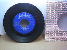 Old 45 RPM Record - Jubilee 45-5298 - Bill Darnel - Recipe for Love / Heavenly F