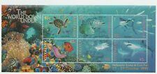 Australian Stamps 1995 The World Down Under one (1) Mini Sheet Oceans Fish Coral