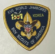 1991 World Jamboree USA  Pocket  Patch MC6