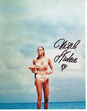 URSULA ANDRESS Signed 10x8 Photo DR NO & CASINO ROYALE James Bond 007 COA
