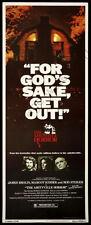 Amityville Horror Movie Poster Insert 14x36 Replica