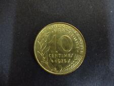 Francia 1975 10 céntimos Moneda