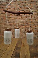 60s Deckenlampe Lampe TEAK Danish PENDANT LAMP Mid Century 60s Pendellampe