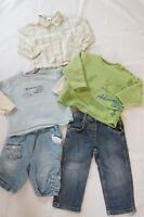 5 Teile Baby Set Eat Ants by Sanetta Esprit Baby Club Hemd Jeans Pullover 80 86