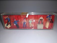 Preiser Delivery Men With Loads Ho Scale