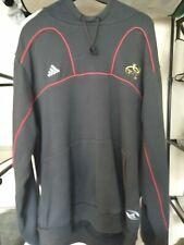 Munster rugby Adidas hoodie grey XL