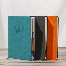 2021 Leather Notebook Days List Journal Diary Planner Notepad Organizer Agenda