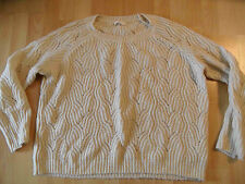 ESPRIT schöner oversized Pullover creme-beige Gr. M TOP  516