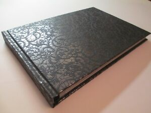 Handmade Photo Album Wedding & Special Occasions - Black pattern
