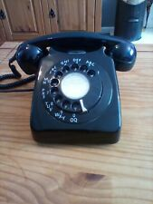 Rotary Dial Phone Vintage Retro 1970s BT Telephone black