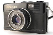 Olympus Trip 35 Film Camera Black D.Zuiko 40mm f/2.8 Lens Ecellent from JAPAN