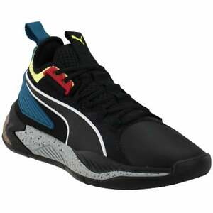 Puma Uproar Spectra   Mens Basketball Sneakers Shoes Casual   - Black - Size
