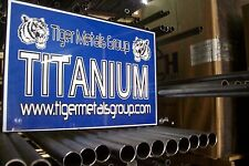 "Grade 9 Titanium Tube ( 2"" OD / 0.070'' Wall /  23"" Length) #337AS"