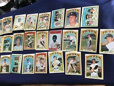 1972 Topps Detroit Tigers Team Set      E7457