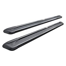"""For Ford F-150 97-03 Running Boards 6"""" Sure-Grip Wheel-to-Wheel Black Running"""