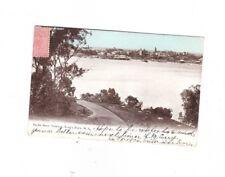 West Australia Postcard, PERTH WA from Terrace,Kings Park cds VICTOR HARBOR SA