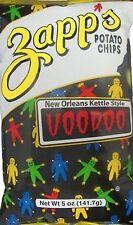 Zapp's Kettle Style Potato Chips - Voodoo Flavor - 5 Oz. (8 Bags)