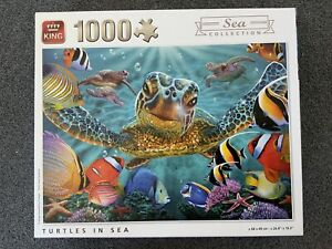 King 1000 Piece Jigsaw Puzzle Sea Collection - Turtles The Sea