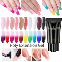 BORN PRETTY Extension POLY Builder UV Gel Nail Polish Forms Brush Manicure Salon