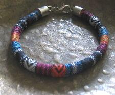 Ethno Armband schwarz bunt Herren Damen neu Unisex Bracelet Südamerika Pulsera