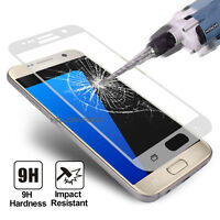 Full Coverage Tempered Glass Screen Protector Samsung Galaxy S7 S6 Edge Plus