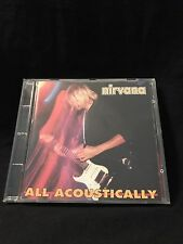 Pre-Owned Nirvana All Acoustically Rare Import CD KTS Records Italy