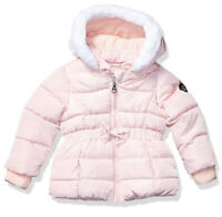 NWT Jessica Simpson Toddler Girls Puffer Jacket PINK Size 18M