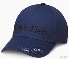 CK Calvin Klein  BaseBall Cap Ball Hat Military NWT  One Size  C.K.  navy