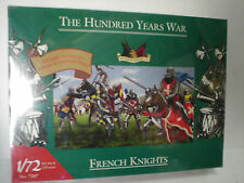 THE HUNDRED YEARS WAR 1/72 SCALE 25mm FRENCH KNIGHTS