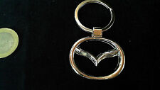 Mazda Logo Schlüsselanhänger Keyring chrom silber Emblem