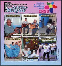 Nicaragua 2015 INSS Musik Lehrer Tanz Fitness-Training Music Dance Block ** MNH