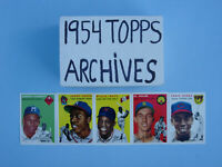1994-1954 TOPPS ARCHIVES BASEBALL ~ COMPLETE SET ~( 256 ) ~ CARDS   NM