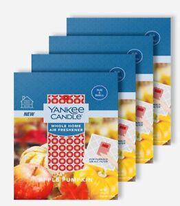 Apple Pumpkin Yankee Candle Whole Home Air Freshener (4 Pack)